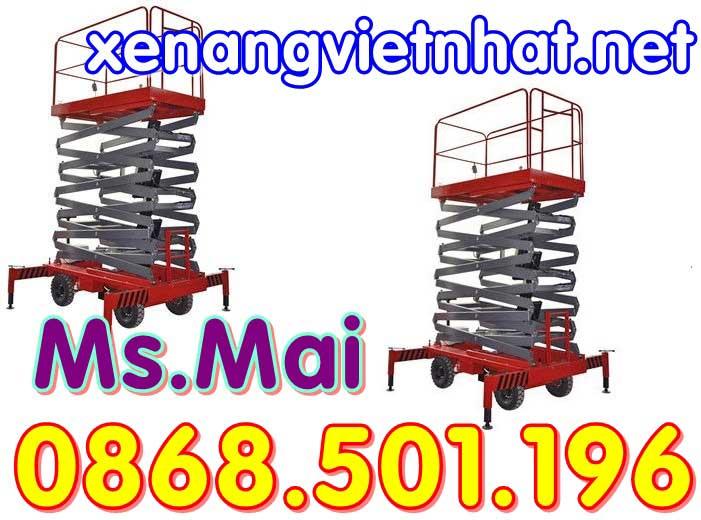 Xe nâng việt nhât cung cấp thang nâng giá rẻ