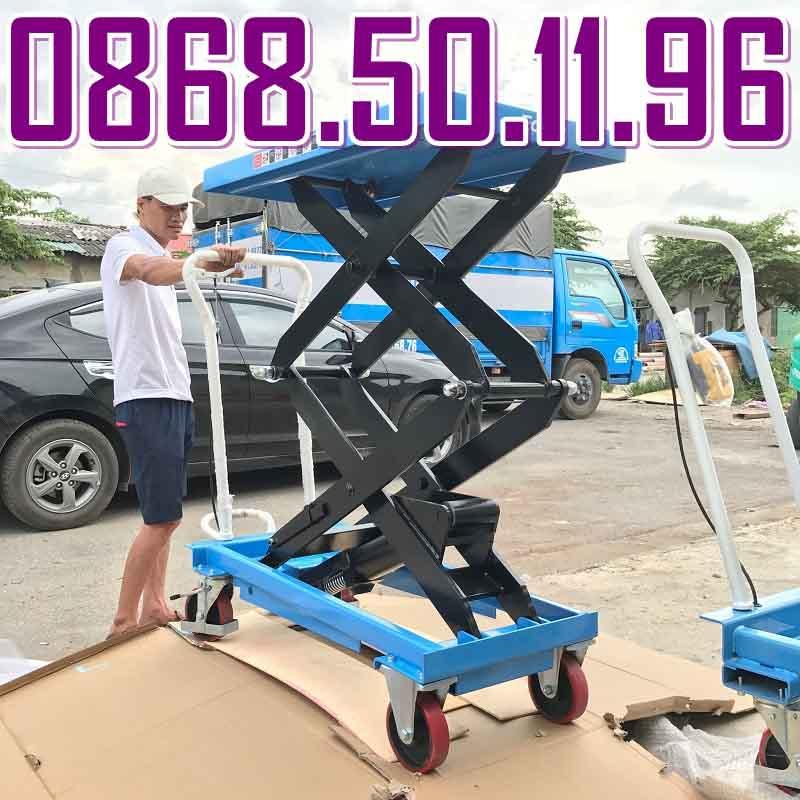 Bàn nâng thủy lực 350kg