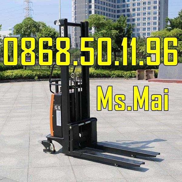 SIÊU PHẨM: Xe Nâng Bán Tự động 1500kg Nâng Cao 3 Mét