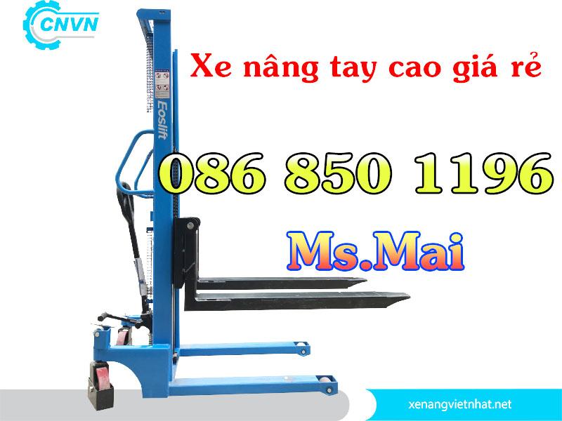 Xe Nâng Tay Cao 1.6m