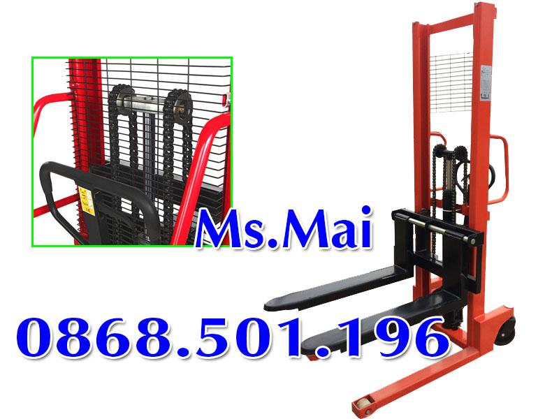Hướng Dẫn Sử Dụng Xe Nâng Tay Cao 500kg 1 Tấn đơn Giản Nhất