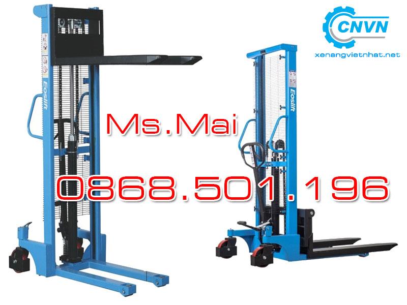 Xe Nâng Tay Cao 1000kg 1.6m 3m