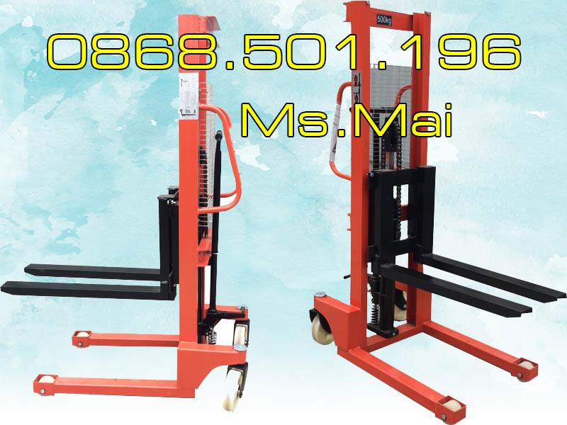 Xe Nâng Tay Cao 500kg Chính Hãng