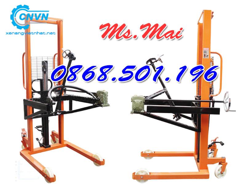 Xe Nâng Thùng Phuy 300kg 350kg Niuli