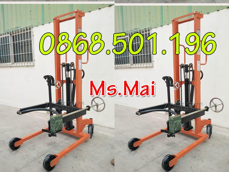 Đặc điểm Của Xe Nâng Thùng Phuy 350kg Chính Hãng