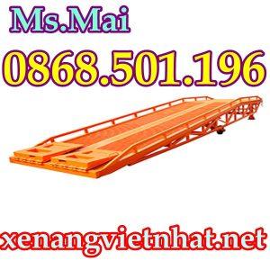 cầu nâng container nhập khẩu