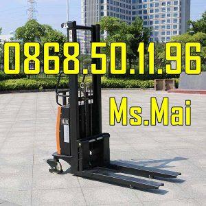 Xe nâng bán tự động 1500kg